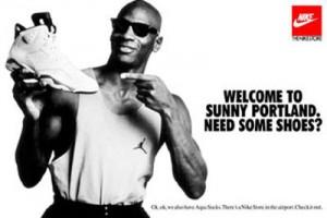 Именно тогда в Nike решили заключить контракт со звездой НБА Майклом Джорданом