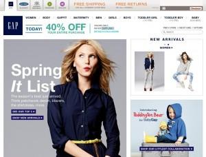 Gap.com — обзор и отзывы о магазине