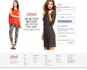 Ideeli.com — обзор и отзывы о магазине