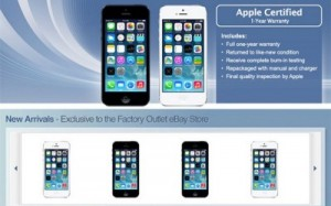 iPhone со скидкой теперь на eBay. (Refurbished)