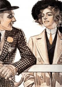 Женский галстук: история появления и разновидности