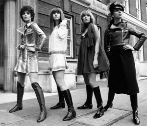 История моды: стиль 70-х годов.