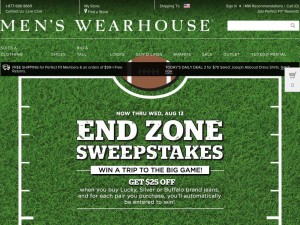 Menswearhouse.com – обзор и отзывы о магазине