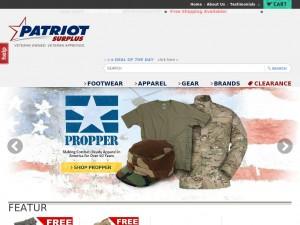 Patriotsurplus.com – обзор и отзывы о магазине