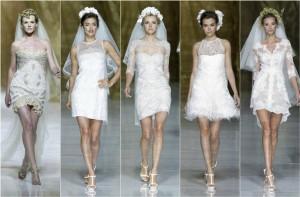 Свадебные тренды осень 2014: все о наряде невесты